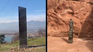 Mysterious monolith appears in Romania ...