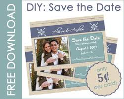 How To Make A Save The Date Card Diy Save The Date Cards Entertaining Life