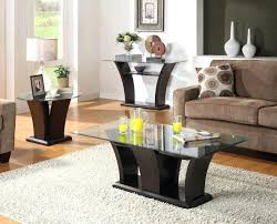 black 3 piece coffee table sets astounding glass living room table sets best in 3 piece