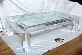 lucite coffee table coffee table nice lucite coffee table nz