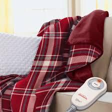Electric Lap Throw Blanket
