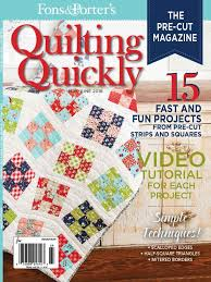 Quilting Quickly May/June 2016 - Fons & Porter - The Quilting Company & Quilting Quickly May/June 2016 – Fons & Porter Adamdwight.com