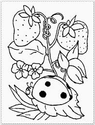 Spring Coloring Pages For Kids Glandigoartcom