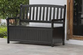 plastic outdoor storage bench