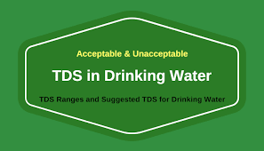 Drinking Water Tds Level Chart Minimum And Maximum Acceptable Tds Level In Drinking Water