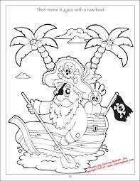 Coloring Books Pirates Treasure Bandits Coloring Book Kleurplaat
