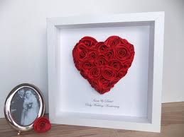 ruby wedding anniversary 3d framed picture by fromleoniwithlove