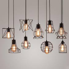 diy antique brass retro guard wire cafe loft droplight fixture iron cage pendant light hanging fitting metal frame lamp holder exterior pendant lights oil