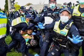 Melbourne shopping precincts deserted as stage 4 lockdown begins   7news. Melbourne Anti Coronavirus Lockdown Protest Turns Violent Live Coronavirus Pandemic News Al Jazeera
