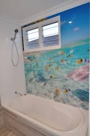 Best Images About Bathroom Acrylic Painted Splashbacks On - Bathroom splashback