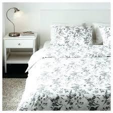 queen full duvet quilt cover set fl white gray ikea covers single