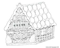 Houses Coloring Pages House Colouring Pages Candy House Coloring