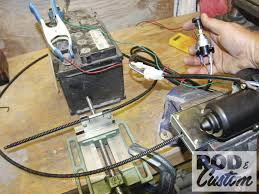 installing ez wiring universal wiper kit hot rod network 487252 28
