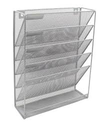 easypag mesh wall file holder 5 tier