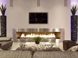 long contemporary electric fireplace  contemporary electric