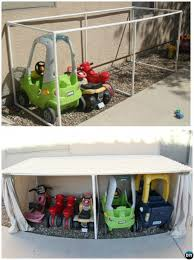 diy pvc pipe car parking garage 20 pvc pipe diy projects for kids