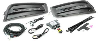 custom led daytime running lights drl by rostra drl chevrolet cruze custom 5 led daytime running light system