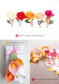 Paper Flower Craft Ideas Paper Flower Crafts Craft Paper Flowers Making Craft Paper