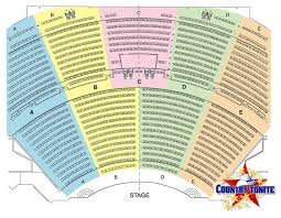 Freedom Hill Seating Chart With Seat Numbers Pigeon Forge Show Country Tonite Entertainment In Pigeon