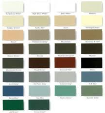 Rain Gutter Color Chart Los Angeles Rain Gutter Company