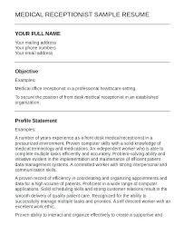 Front Desk Receptionist Resume Sample Best of Example Receptionist Resume Sample Receptionist Resume Cover Letter