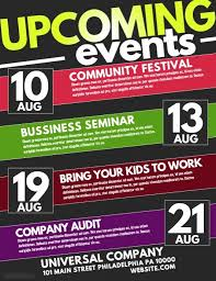 Simple Event Flyers Event Flyer Templates Free Downloads Postermywall