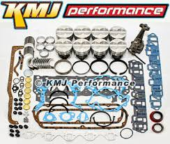 ford 302 engine parts small block ford 289 302 engine rebuild overhaul kit w pistons rings bearings