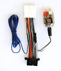 amazon com factory radio amp subwoofer interface wire harness  at 1990 Chevy Truck 5 7 Wire Harness Og Gauges