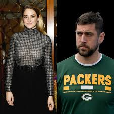 The 'big little lies' star confirmed that she is spoken for and has been engaged to green bay packers quarterback aaron rodgers for a while now. Aaron Rodgers Treated Relationship With Shailene Woodley As A Casual Thing When Duo Started Dating Report Pinkvilla