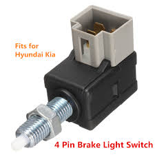 Light Switch Stop Us 3 54 9 Off 93810 3k000 Car Brake Light Switch Stop Rear Lamp Switches 4pins For Hyundai Accent For Kia Rio 1989 2014 In Radiators Parts From