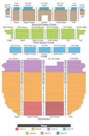 Providence Performing Arts Center Interactive Seating Chart Come From Away Tickets Fri Dec 6 2019 7 30 Pm At