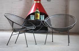 salterini outdoor furniture. Salterini Wrought Iron Chairs Outdoor Furniture