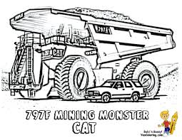 collection of construction trucks coloring pages them and try to solve