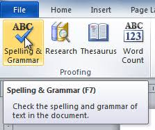 essay grammar check online grammar check and proofreader  word checking spelling and grammar page the spelling and grammar command