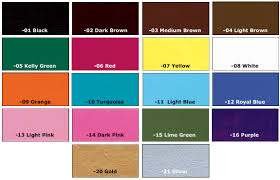 Eco Flo Dye Color Chart Designs By Uri Home
