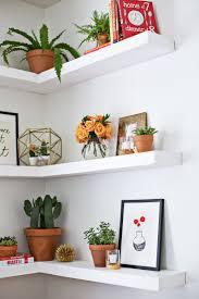 stylish inspiration floating corner bookshelves diy shelves a beautiful mess through for instructions ikea diy