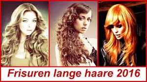 Frisuren Lange Haare 2016 Youtube
