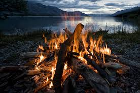 camping in the woods with a fire. Simple Camping Fire Burn Bonfire Adventure Woods Flame Wood Camping Field Trip Camp With In The A Fire