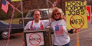 what is nafta is it good for the us business insider nafta protest