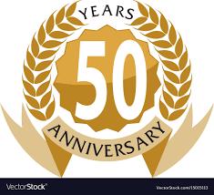 Anniversary Ribbon 50 Years Ribbon Anniversary Royalty Free Vector Image