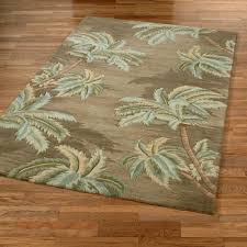 homey palm tree rugs kitchen round tropical area florida