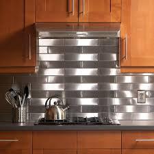 Stainless Steel Kitchen Backsplash Ideas Do Yourself Stainless Steel  Backsplash