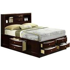 orleans cherry queen storage bed