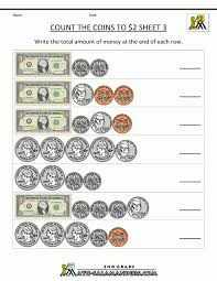 Count Dollars and Coins Worksheets | Homeshealth.info