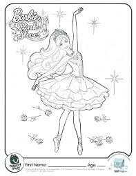 Coloring Pages Ballet Derofc Club