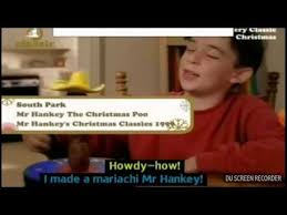 Mr Hankey the christmas Poo Song - YouTube
