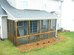 screened in porch under deck ideas attractive enclosed design concept best designs back