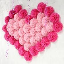 Diy Flower Balls Tissue Paper 2019 15cm Pompon Tissue Paper Pom Poms Flower Balls For Wedding Home Decoration Birthday Party Decor Diy Craft Paper Flower 62472 From Hibooth 32 4