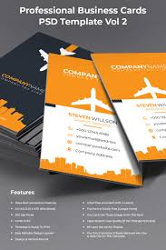 Professional Business Cards Psd Template