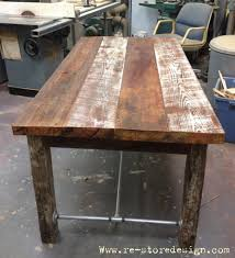 Reclaimed Wood Projects Reclaimed Wood Farm Table Do It Yourself Home Projects From Ana